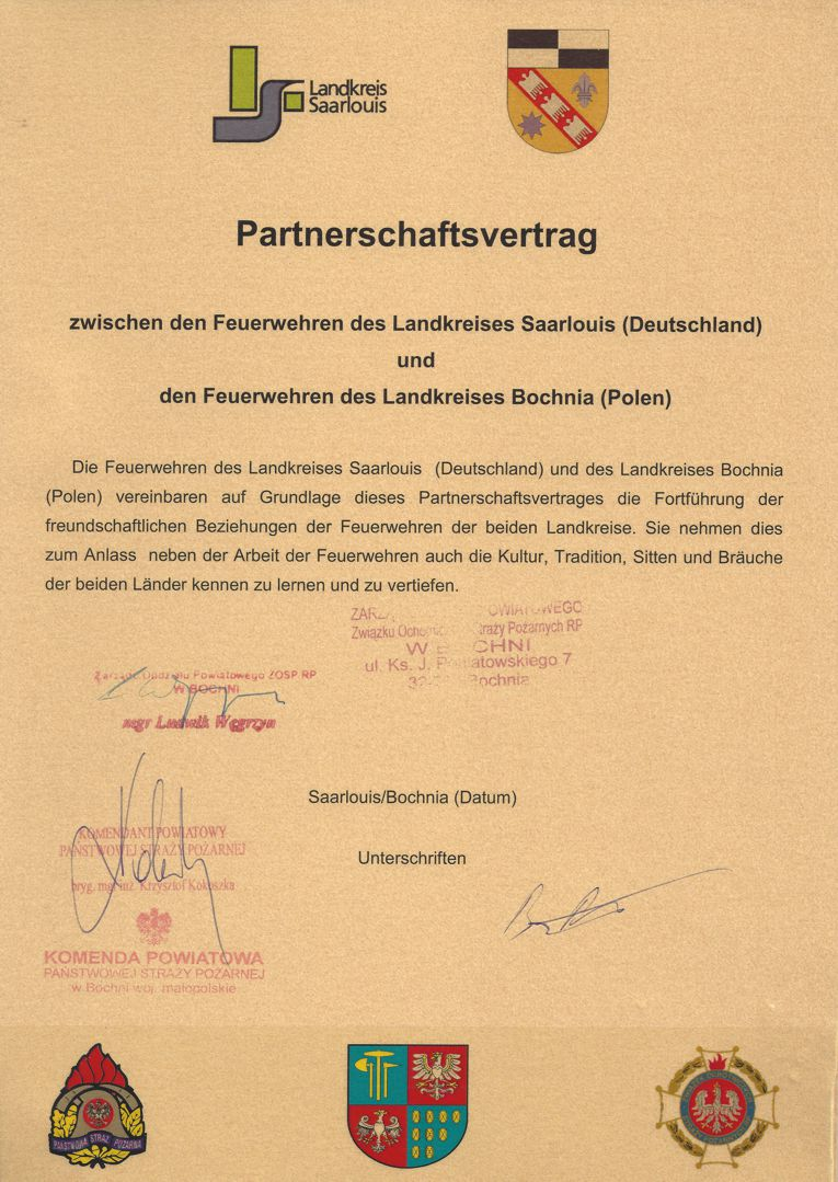 Partnerschaftsvertrag Deutsch W