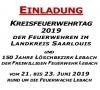 Kreisfeuerwehrtag Landkreis Saarlouis